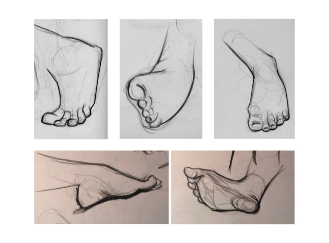Life Drawing Template